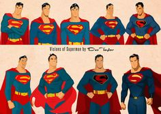 Superman Visions by Des Taylor by DESPOP on deviantART
