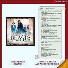 Fantastik macera severlerin heyecanla beklediği Fantastic Beasts and Where to Find Them filminin müzikleri Sony Music etiketiyle yayınlandı.  #sinema #fantastiksinema #müzik #muzik #macera #mephisto