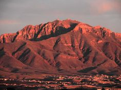 Mount Franklin, El Paso, TX...I miss my mountains so much!