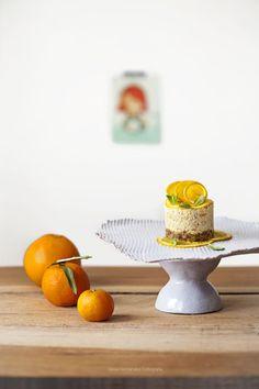 Tarjeta d embarque: Cheesecake de naranja para MaryLuz (sin cheese). #Receta #Vegana