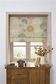 Buy Orange Emily Floral Printed Blind from the Next UK online shop