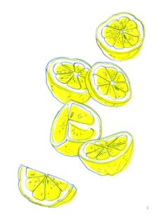 what to draw sketches Fruit Illustration, Watercolor Illustration, Watercolor Art, Lemon Drawing, Art Sketches, Art Drawings, Lemon Art, Guache, Fruit Art