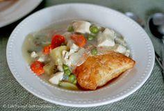 Upside Down Chicken Pot Pie | Life Tastes Like Food