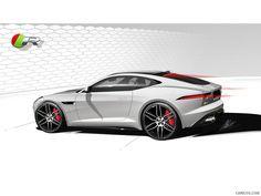 2015 Jaguar F-Type R Coupe - Design Sketch, 1024x768, #53 of 62