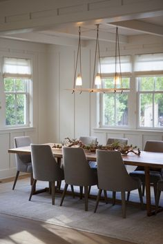 Modern Farmhouse: Dining Room 2 - Modern Organic Interiors