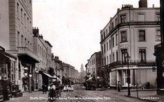 Bath Street and Victoria Terrace, Leamington