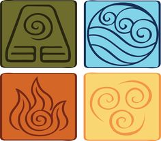 Avatar: the Last Airbender Symbols by Jriiann.deviantart.com on @deviantART