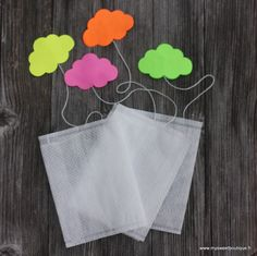 Sachets de thé nuage