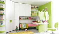 Habitaciones para niños y jóvenes