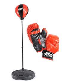 Boxing Punching Bag & Gloves