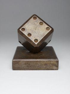 Rare Art Deco Edgar Brandt Dice paperweight by SimonCurtisAntiques