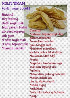 Layer Cake Recipes, Cookie Recipes, Snack Recipes, Dessert Recipes, Malaysian Dessert, Malaysian Food, Sambal Recipe, Malay Food, Indonesian Cuisine