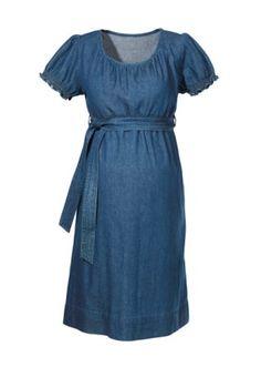 7679da2cdc8e3 Maternity denim dress Short Sleeve Dresses, Dresses With Sleeves, Short  Sleeves, Long Sleeve