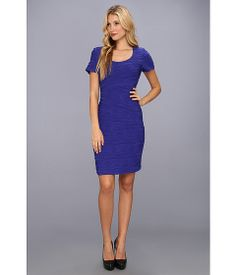 Christin Michaels Adonica Dress-Cobalt