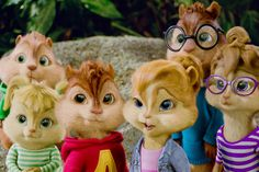 alvin and the chipmunks and the chipettes - Google Search