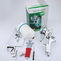 70.3$  Buy here - Wholesale and retail Jet 4000B professional Gravity spray gun with 1.3mm nozzle HVLP car paint gun, painted high efficiency   #magazineonlinebeautiful