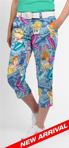 Loudmouth Golf Capri Pearl Diver | Golf4Her