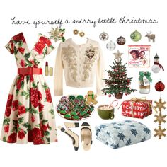 """""""Have Yourself a Merry Little Christmas"""" by lilbailey on Polyvore"""