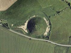 Silbury Hill - South of Avebury, Wiltshire