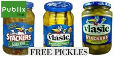 2 FREE Jars Of Vlasic Pickles At Publix with coupons http://www.freebiequeen13.net/publix-ways-to-save.html