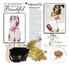 """#newchic"" by kristina779 ❤ liked on Polyvore featuring H&M, WALL, chic, New and newchic"