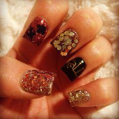 Fall Nails!  LOVE!