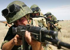 Моделирование мотострелковых войск РФ