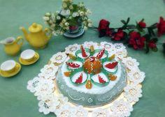 Gino's sicilian cake