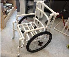 View PVC Wheelchair,(1 inch Pipe)