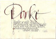Galerie - Kalligraphie-Werkstatt