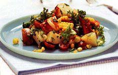 Lobster, corn and potato salad      Lobster, Corn, and Potato Salad with Tarragon Recipe  | Epicurious.com
