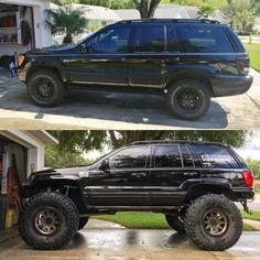 La imagen puede contener: automóvil y exterior 2003 Jeep Grand Cherokee, Lifted Jeep Cherokee, Mitsubishi Lancer Evolution, Honda Civic Si, Ae86, Nissan Silvia, Nissan 350z, Honda S2000, Nissan Skyline