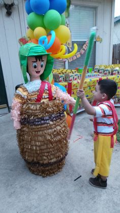 Pinata del chavo birthday party