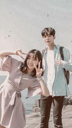 Extraordinary you ( Haru e Dan-oh ) Korean Drama Romance, Korean Drama Movies, Korean Actors, Cute Relationship Photos, Kim Ro Woon, K Drama, Kim Young, Drama Funny, I Love Cinema
