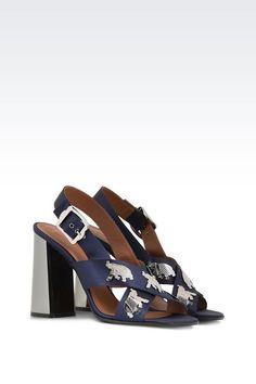 Chaussures: Sandales à talon Femme by Armani - 2