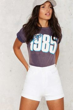 Zee Gee Why Hillbilly High Waisted Shorts | Shop Clothes at Nasty Gal!