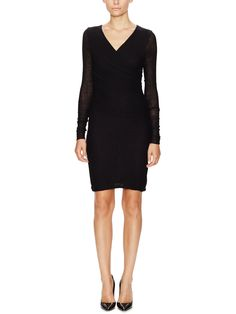 MAJE - Donjon Wool Sheath dress