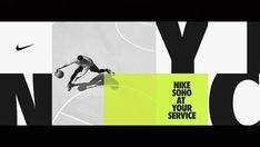 Nike_Soho — Adam Brandon — Design + Direction for Brands. Tech Branding, Branding Design, Print Layout, Layout Design, Design Ideas, Soho, Nike Poster, Sports Graphic Design, Nike Design