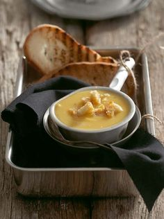 Vegetarian: Creamy sweet potato and butternut soup