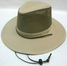 "Mesh Outdoor Fishing Hiking Military Army Jungle Bucket Mens Womens Cap Hat by AMC. $12.99. S/M: 22.8"" (58cm). Style: Mesh bucket hat. 100% Brand New. L/XL: 23.6"" (60cm). Color: Khaki, Olive. Style: Mesh bucket hatColor: Khaki, OliveS/M: 22.8"" (58cm) L/XL: 23.6"" (60cm)100% Brand New"