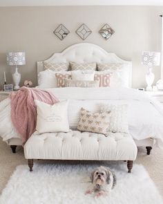 Nice 150 Amazing Romantic Master Bedroom Design Ideas You Have To Try https://decoor.net/150-amazing-romantic-master-bedroom-design-ideas-you-have-to-try-3664/