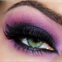 PURPLE SMOKY MAKEUP By Małgorzata P