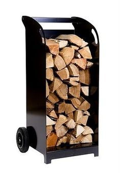 Chilli Penguin Stoves, top quality contemporary stoves with character. - Log Storage
