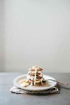 Pumpkin Spice Banana Bread Almond Flour Pancakes with Coconut Flour & Yogurt | dolly and oatmeal