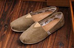 New Arrival Toms women shoes corduroy brown