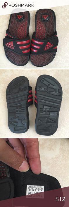 wholesale dealer 80891 cd8d2 Kids, size 13, Adidas adissage slip sandals Kids, size 13, Adidas adissage