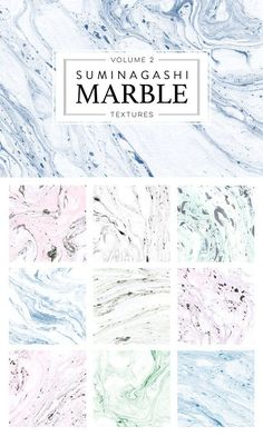 Marble Paper Textures 2 by Dinara May on @creativemarket