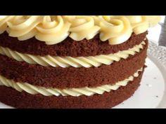 DECORAÇÃO DE NAKED CAKE - RECHEIO COM EFEITO DE CORDAS - YouTube