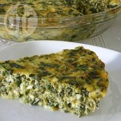 I think I might sub out cheddar for another cheese, but looks really good!! Recipe Picture:Quick Spinach Quiche
