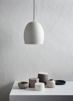 Grey Ceramic Pendant Light - All For Decoration Ceramic Light, Ceramic Pendant, Pendant Lamp, Pendant Lighting, Ceramic Lamps, Minimalist Interior, Modern Interior, Interior Design, Minimalist Decor